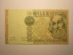 ITALIE - 1000 Lire 1982 - Marco PAULO - 1000 Lire