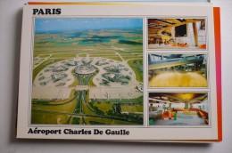 AIRPORT/ AEROPORT/ FLUGAFEN        PARIS  ROISSY CDG - Aerodrome