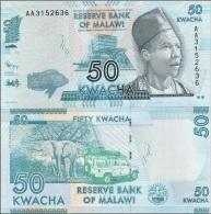 Malawi - 50 Kwacha 01.01. 2012 UNC Ukr-OP - Malawi