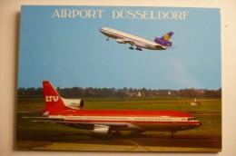 AIRPORT/ AEROPORT/ FLUGAFEN         DUSSELDORF - Aerodrome