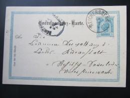 Postkarte GANZSACHE Reichersberg Am Inn - Rohitsch 1904 //  D*15780 - Briefe U. Dokumente