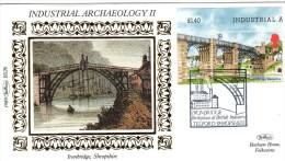 First Day Cover - Industrial Archaeology II - Ironbridge - Benham. BS26 - FDC