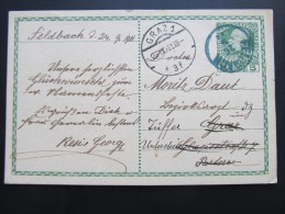 Postkarte GANZSACHE FELDBACH - Graz 1911 //  D*15790 - 1850-1918 Imperium