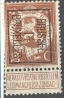 5Nz-998: N° 50: BRUSSEL 14 BRUXELLES - Vorfrankiert