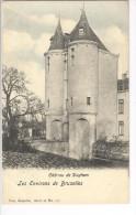 CP Environs De Bruxelles. Château De Dieghem Légèrement Colorisé Vers 1905 Nels - Diegem