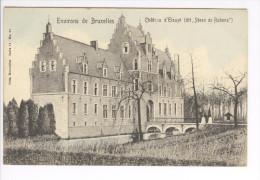 CP Environs De Bruxelles. Château D'Elewyt (Steen De Rubens) Légèrement Colorisé Vers 1905 Nels - Diegem