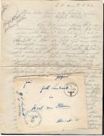 TB 710 - LAC - Lettre - Franchise Militaire - Feldpost -  De France Pour WEIL - AM - RHEIN  Allemagne - Briefe U. Dokumente