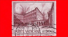 VATICANO - 1976 - Usato - Fontane - 300 L. • Palazzo Apostolico - Used Stamps
