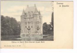 CP Environs De Bruxelles. Château De Ham à Steen-Oekerzeel (façade Nord) Légèrement Colorisé Vers 1905 Nels - Steenokkerzeel