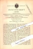 Original Patent - Archibald Campbell , Baronet In Blythswood , 1883 , Speedometer For Machines , Scotland !!! - Renfrewshire