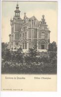 CP Environs De Bruxelles. Château D'Humelghem Humelgem Légèrement Colorisé Vers 1905 Nels - Steenokkerzeel