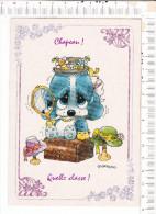 CHAPEAU !  -  QUELLE CLASSE !    Illustration   :   Chien   -  D Après   Giordano - Otros