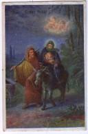 AK KINDER ENGEL ANGEL WEIHNACHTEN,JESUS & MARY ANSICHTSKARTEN 1920 - Anges