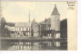 CP Environs De Bruxelles. Château De Ternath Ternat Légèrement Colorisé Vers 1905 Nels - Ternat