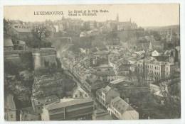 LUXEMBOURG - Le Grund Et La Ville Haute - Luxembourg - Ville