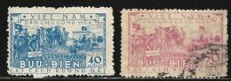 NORTH VIETNAM 1955 SCOTT 26 USED + Official 8** VALUE US $ 16.00 - Vietnam