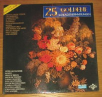 Disque 556 Vinyle 33 T 25 Golden Schlager-Erinnerrungen 2 Disuqes - Sonstige - Deutsche Musik