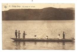 CPA - Afrique - CONGO BELGE - Une Pirogue Sur Le Fleuve  // - Congo Belga - Otros