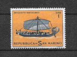 Pub20-Publicité Au Verso Arginine Veyron-Froment Sur Timbre De San Marino N°573 N** - Publicités