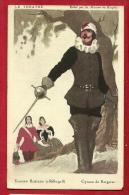 FRQ-04 Cyrano De Bergerac D'Edmond Rostand  Circulé Vers Bienne Biel En 1925, Timbre Manque - Teatro