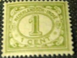 Netherland Indies 1912 Numerals 1c - Mint - Netherlands Indies