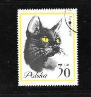 Pub27-Publicité Au Verso Viberol Tyrothricine Sur Timbre De Pologne N°1332 Obl - Publicités