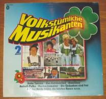 Disque 569 Vinyle 33 T Volkstümliche Musikanten II - Vinyl Records