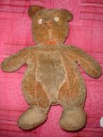 Ancien Ours, Yeux En Boutons De Nacre (15-1291) - Teddybären