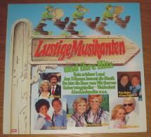 Disque 577 Vinyle 33 T Lustige Musikanten Und Ihre Hits - Sonstige - Deutsche Musik