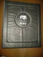 20 Schwarze Hüllen Für Das WWF Album Neuwertig 11€ Zum Einlegen Von 40 Blocks/Kleinbögen Material For Sheets/sheetlets - Pin's