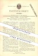 Original Patent - Konrad Huber In Frankenthal , 1882 , Rohrverbindungen Und Rohrkesselsystem , Dampfkessel !!! - Historische Dokumente