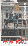 SERBIA - Monument Of Prince Mihailo Obrenovic, Telecom Srbija Telecard 100 Din, Chip GEM3.3, Tirage %80000, 10/00, Mint - Yougoslavie