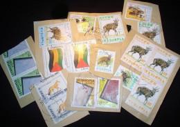 Ethiopia KILOWARE StampBag 500g (1LB-1½oz) Mostly Modern     [vrac Kilowaar Kilovara] - Timbres