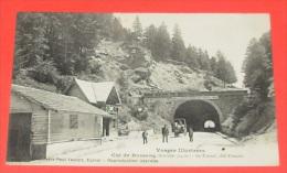 Vosges Illustrées - Col De Bussang ( Altitude 734 M ) - Le Tunnel Côté Français ::::: Animation ----- 272 - Col De Bussang