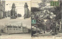 LOT DE 21 CARTES POSTALES ANCIENNES DE CREPY EN VALOIS (OISE). - Crepy En Valois