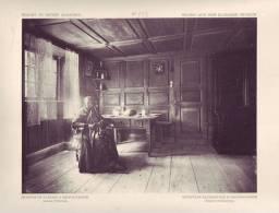 Image Grand Format Du Musée Alsacien N° 183 : Chambre De Paysans à Meistratzheim - Old Paper