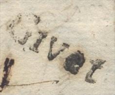 ARDENNES LAC GIVET 18 Mm Lenain N° 5 Du 25 Mai1783  TB  Ind 19 - Postmark Collection (Covers)