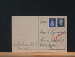 49/468    CP  BRIEFKAART  NAAR DENEMARKEN  1949 - Postwaardestukken