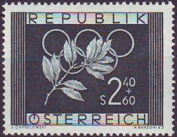 AUSTRIA - WINTER  OLYMPIC  OSLO - **MNH - 1952 - Winter 1952: Oslo