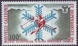 N. CALEDONIA  - WINTER  OLYMPIC  GRENOBLE - **MNH - 1968 - Winter 1968: Grenoble