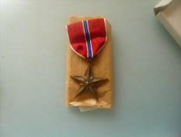 Medaille N 2 Bronze Star Ww2 - 1939-45