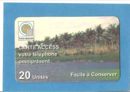 TOGO  ACCESS  20 U. - Togo