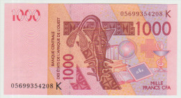 West African States 1000 Francs 2005 Pick 715K UNC - West-Afrikaanse Staten