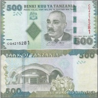 Tanzania - 500 Shilings 2010 UNC Ukr-OP - Tanzania