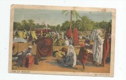 Cp , Commerce , Sur Le Marché , Ed : Combier , Collection Artistique L´Afrique Du Nord Par R. Prouho , écrite - Marchés