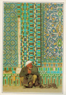 AFGHANISTEN  MAZAR-I-SHARIF:  ESTERNO DELLA  MOSCHEA   (NUOVA CON DESCRIZIONE DEL SITO) - Afghanistan