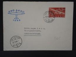 SUISSE- LETTRE DE LAUSANNE POUR HERZOGENBUCHSEE  PRO AERO 1946    A VOIR    LOT P3055 - Airmail