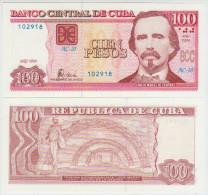 Cuba 100 Pesos 2004 Pick 129 UNC
