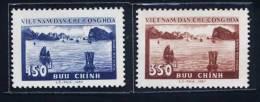 North Vietnam Viet Nam MNH Stamps 1959 : Ha Long Bay / Boat (Ms047) - Viêt-Nam