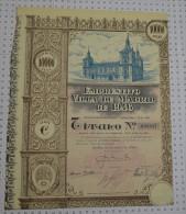 Emprunt De La Ville De Madrid. Empresito Villa De Madrid - Banque & Assurance